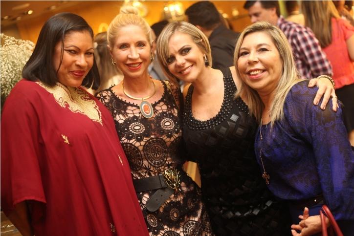 Marta Goes Lia Ferreira Cininha Lefundes e Juju Luz por Heber Barros
