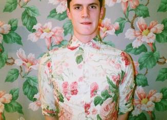 moda masculina- moda floral