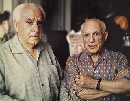 Christian Zervos, o fundador da Cahiers d'Art, trabalhou diretamente com Picasso durante toda a sua vida Foto: Reprodução