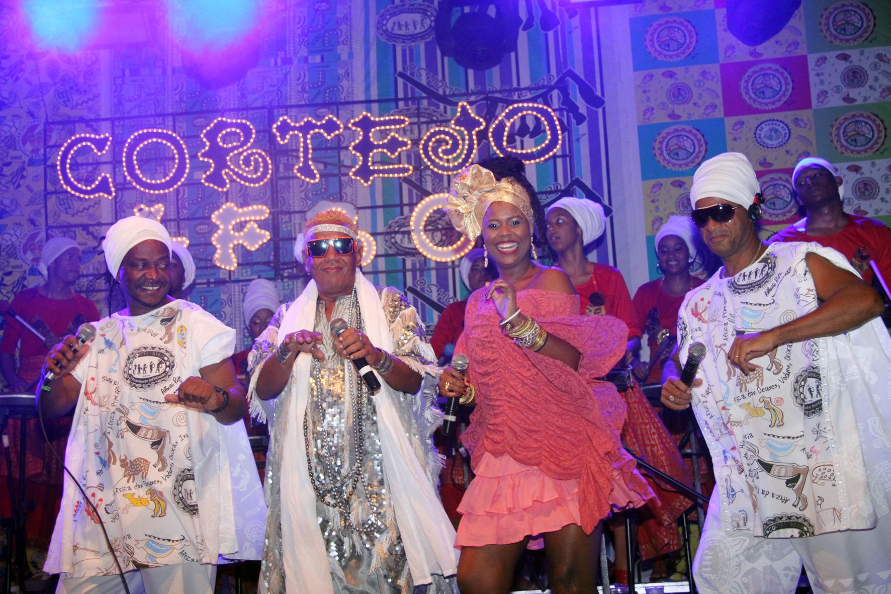 A Banda Cortejo Afro embala as noites de segunda na capital. Foto Edgar de Souza/Divulgação