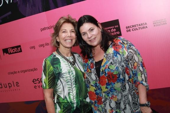 Maria Luisa Pezão, futura primeira dama do estado do Rio de Janeiro com a mentora do Salão Bossa Eloysa Simão