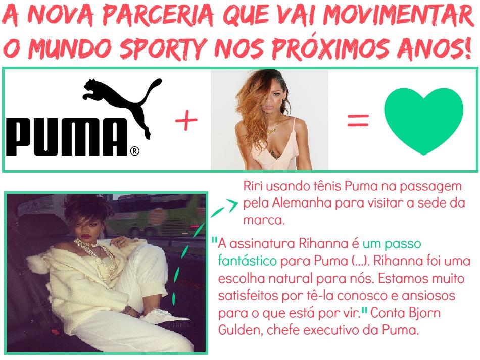 Rihanna para Puma