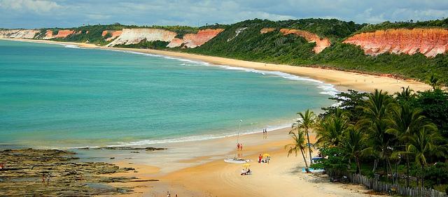 A paradisíaca Arraial d´Ajuda será palco do Skol Summer On Foto: Divulgação