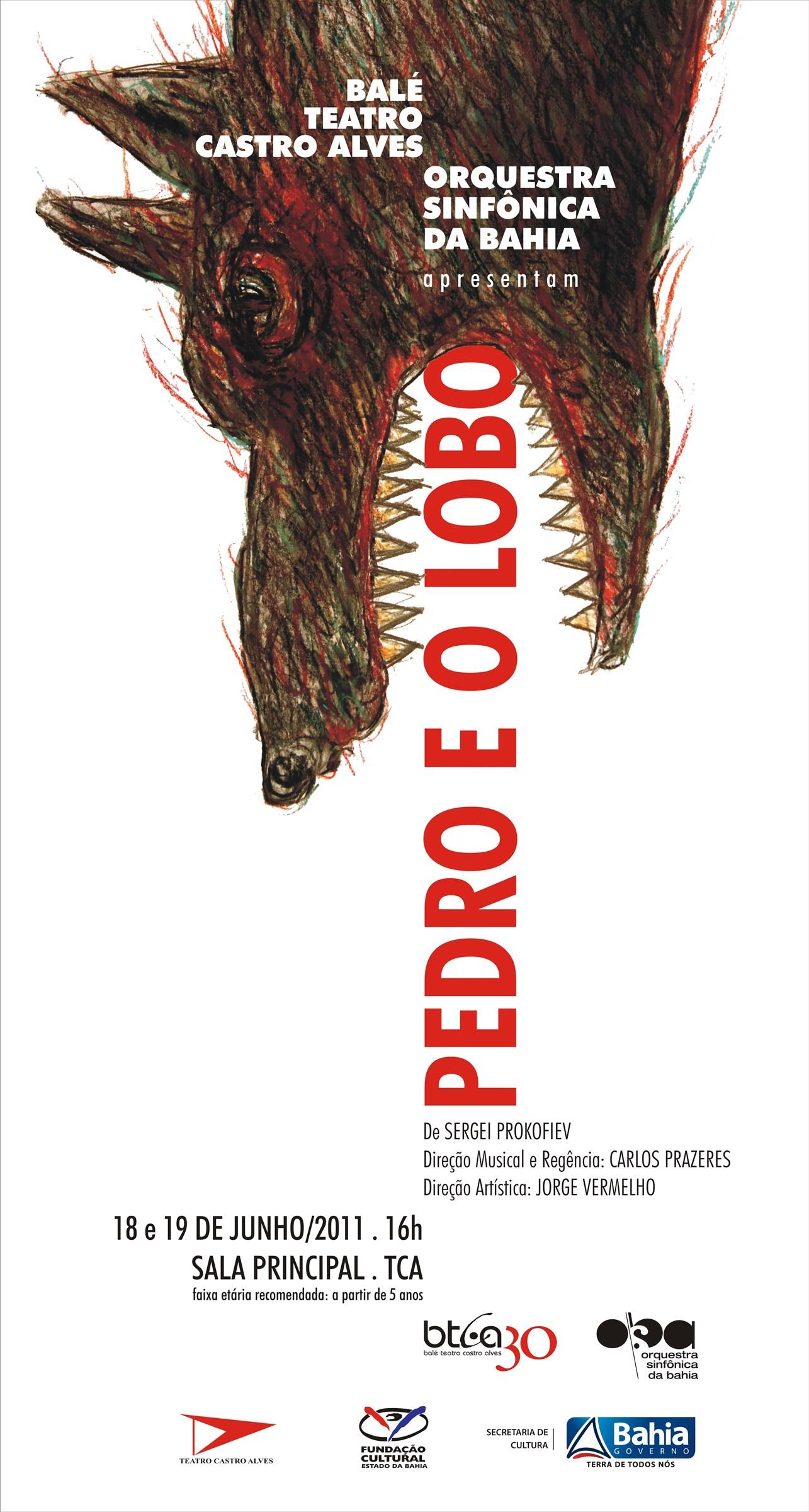 Mostra TCA EM CARTAZ_Espetáculo Pedro e o Lobo_OSBA e BTCA - Por Antonio Figueiredo