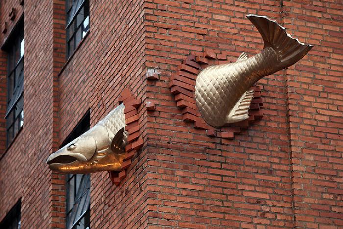 O Salmão, Portland, Oregon