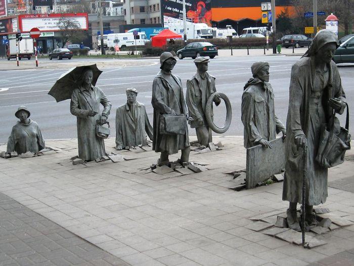Os Transeúntes Wroclaw, Polônia