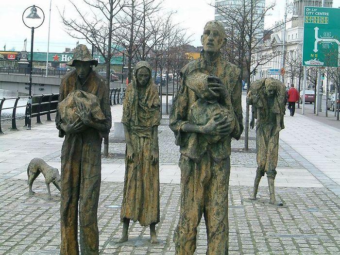 Os imigrantes, Irlanda