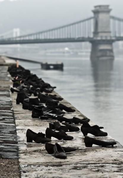 Sapatos no Danúbio, em Budapeste, Hungria