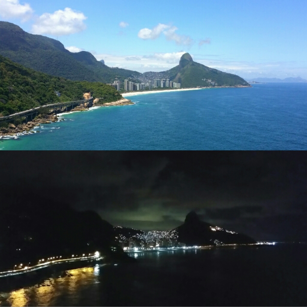 Vista do lounge - La Suite - dia e noite