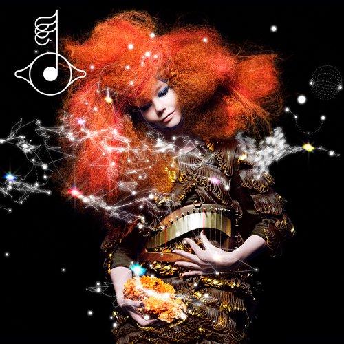 Capa do pen[ultimo álbum de Bjork /  Biophilia(2011)