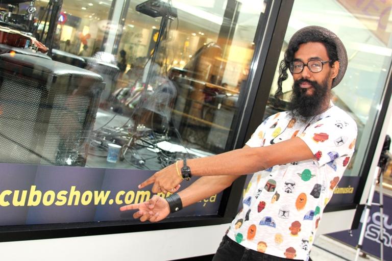 Enio no Cubo Show(24) no Shopping da Bahia