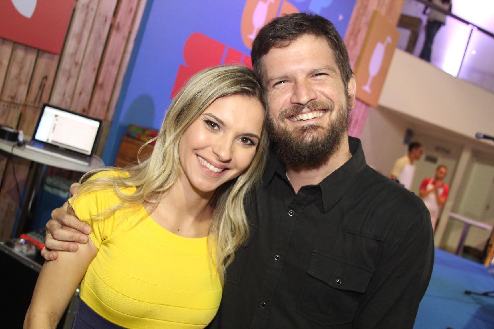 Lara Kertesz e Saulo Fernandes