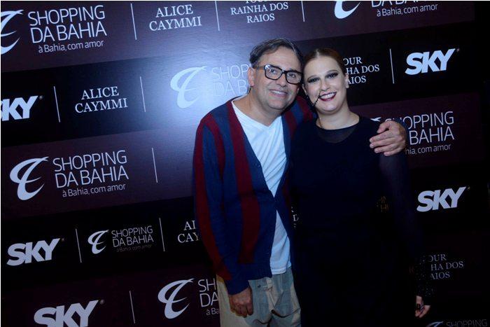 Paulo Borges e Alice Caymmi