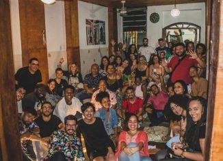 Elenco da Comédia Além do Carmo foto Divulgação