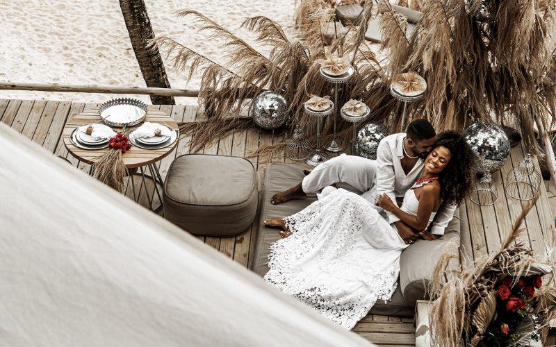 Um casório romântico, chic, identitário e ancestral